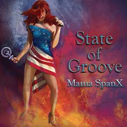 "BIG Congrats to Lorlinda Art who did the original photo and art work for the Mama SpanX CD cover ""State of Groove! We are so proud of you Lady! "" Lorlinda Art"